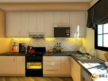 Modern kitchen , johns burg(south Africa)