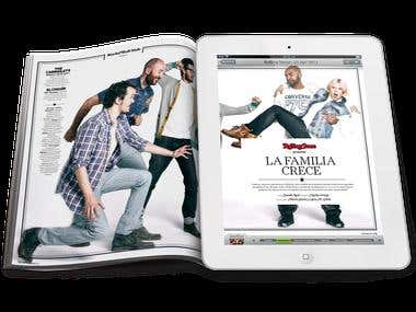 Magazine in Print and Digital