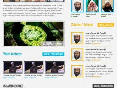 Website Designs - SunyyaSyed.com