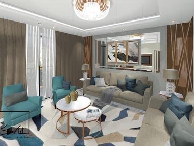 Modern Guest Room 2