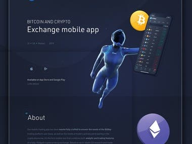BitBay - BlockChain Digital Currency Exchange App