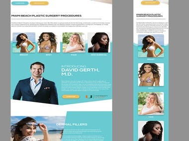 PSD TO HTML CONVERSION | SAMPLE 3