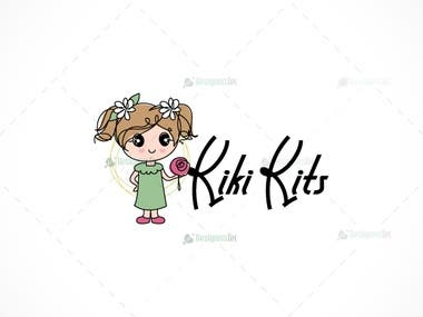 children clothing shop logo