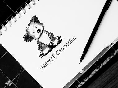 dogs selling company logo