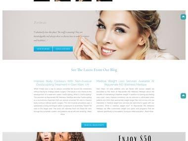 Doctor's WordPress Website