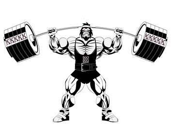 Ilustración Gorila.