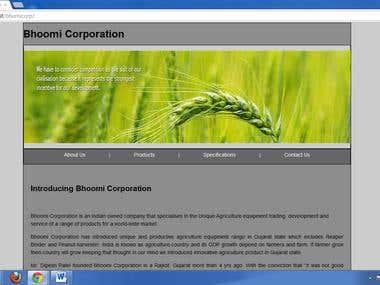 Bhumi Corporation