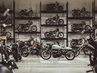 Bike Customization Automobile Industry