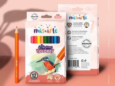 Packaging - Lápices de Colores