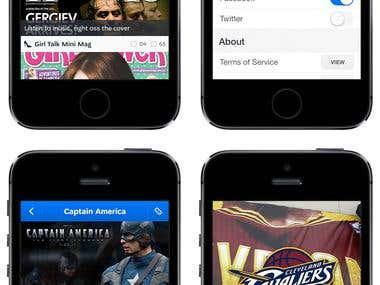 Fathead Mobile App Design