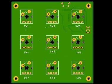 Custom Mini Mechanical Board