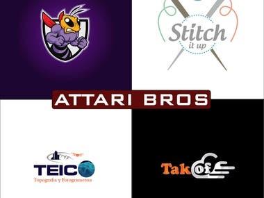 AttariBros Logo Design 2