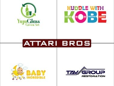 AttariBros Logo Design 3
