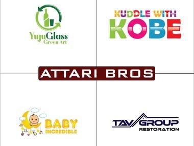 AttariBros Logo Design 3