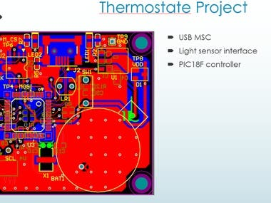 Thermostate Project