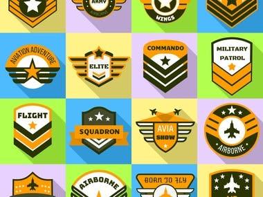 Logos for organizations