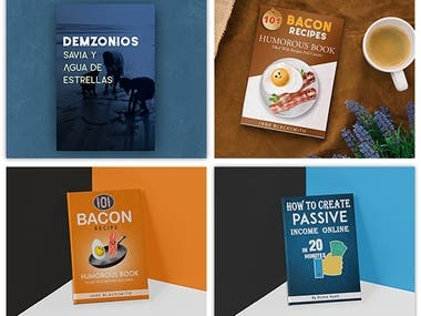 E-book Cover Designs Bundle