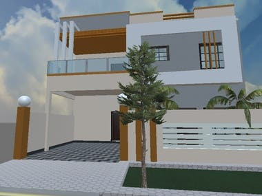 Realistic House