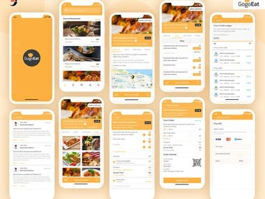 Gogoeats Mobile apps: Food Ordering