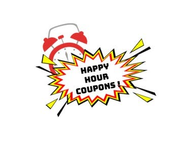 Happy hour coupon