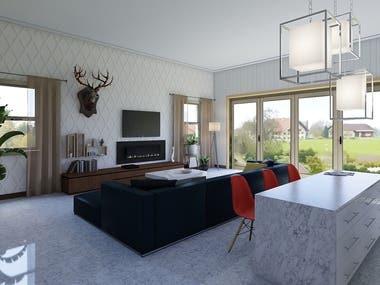 60sqm Living Room #1