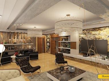 #4 51sqm Living Room