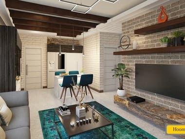 #5 54sqm Apartment