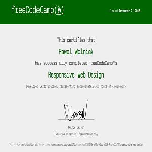 Responsive Website Design Html5 Css3 Fcc Certification Freelancer