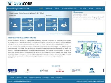 Zencore India - Business Website