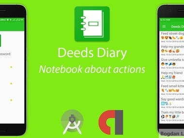 Android application for Deeds control