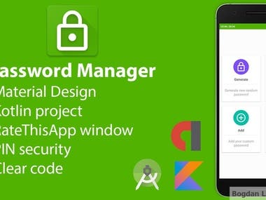 Password Manager - Android application