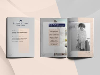 Fashion Catalog Magazine Design