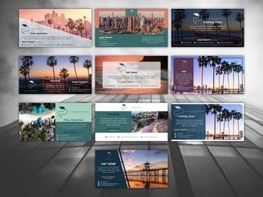 Social Media Templates Design Branding