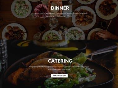 Restaurant Website Design/Development OnWordpress withSEO