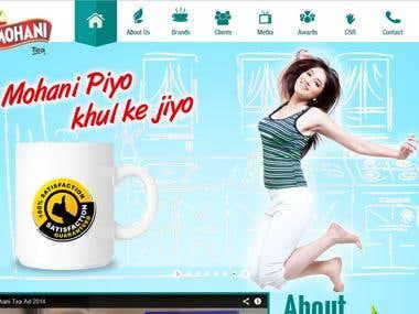 Tea CompanyWebsite