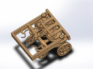 3D design of a Cart