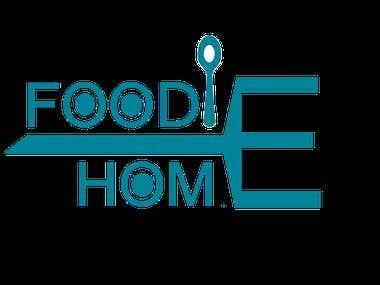 Foodie Home Logo Design
