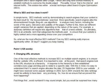 10 Tips to Improve Your SEO Rankings in the Next 30 Days