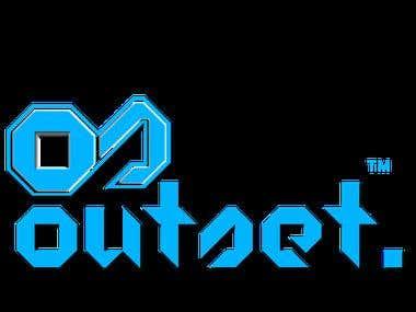 OUTSET company Logo design
