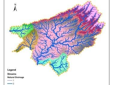 Watershed Analysis using GIS tools