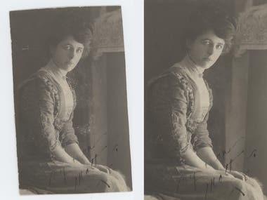 Photoshop   Photo Restoration