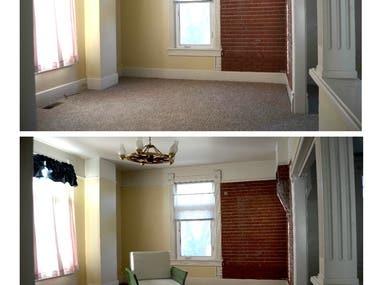 Addition of Virtual Furniture