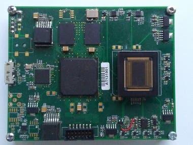 Image sensor board