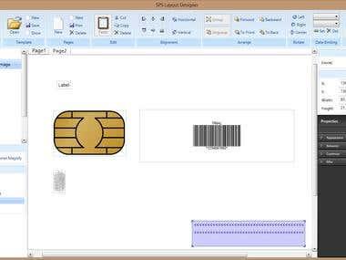 Smart card designer