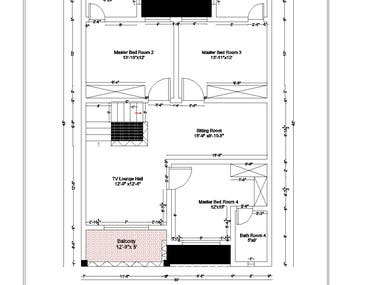 House First Floor Plan