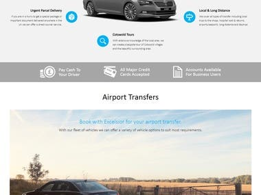 Website for excelsior taxi company