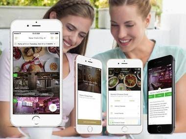 Restraurant Reservation app
