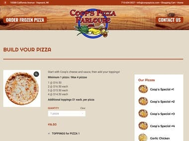Coops Pizza