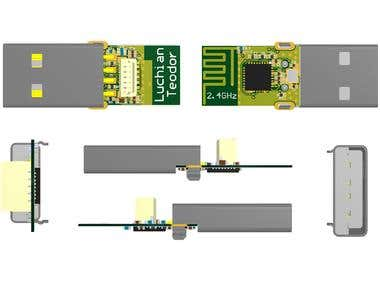 Programmable USB dongle