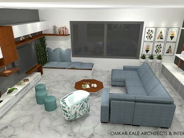 INTERIOR DESIGN FOR BUNGALOW